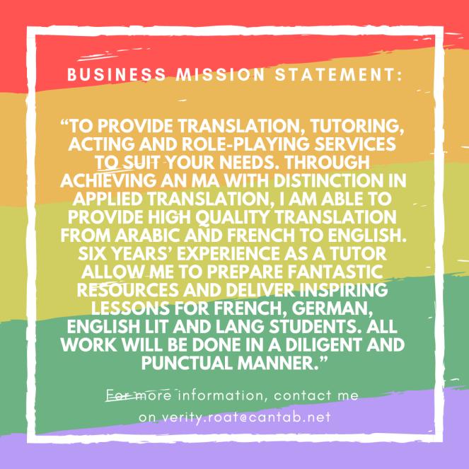 business mission statement_
