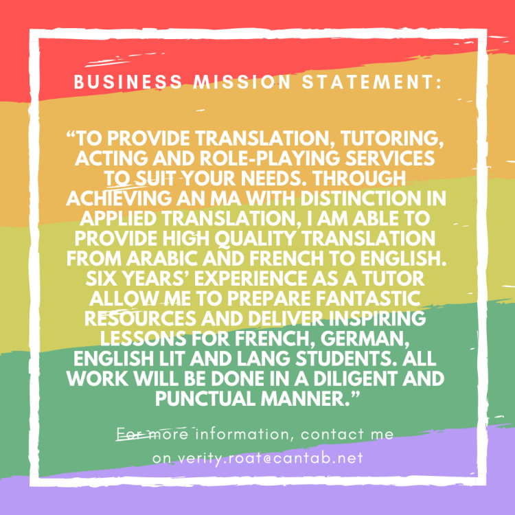 business mission statement_